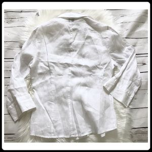 """And Tops - Linen white blouse from Italian brand """"And"""""""